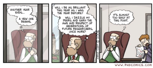 Professores são seres muito atenciosos...