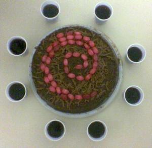 Debian Festival 2 e o bolo com confeitos (o mais original)