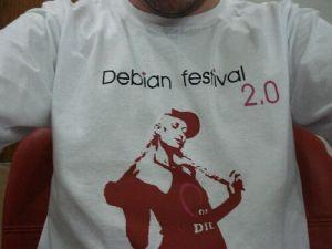 Marco com a camisa da Paris (Debian Festival 2.0)