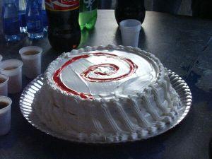 O bolo bonitão do Debian Festival 3